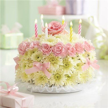 Wondrous 1 800 Flowers Birthday Flower Cake Pastel San Diego Ca Personalised Birthday Cards Veneteletsinfo