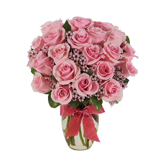 Pink Rose flower bouquet for sale at Ingallina's Gifts