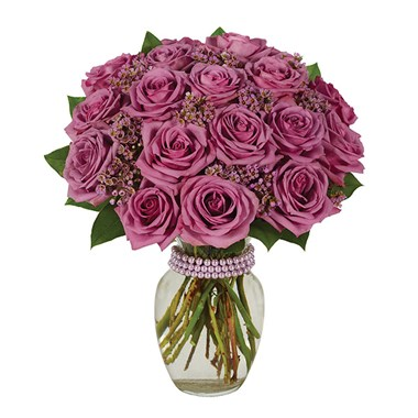 Purple rose flower bouquet from Ingallina's Gifts