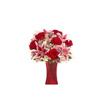 Forever Romance Bouquet for sale from Ingallina's flowers website